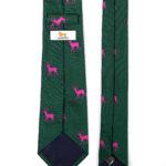 106 Krawatte Hirsch Pink 3